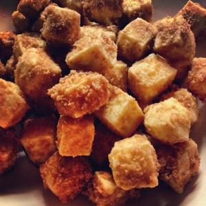 Tofu friteuse