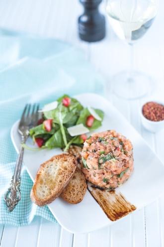 tartare saumon MHH fou des foodies