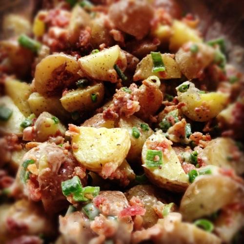 Salade de pommes de terre grelots