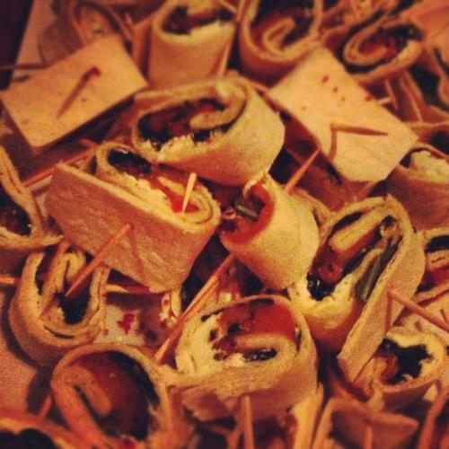 roulés tortilla saumon fumé