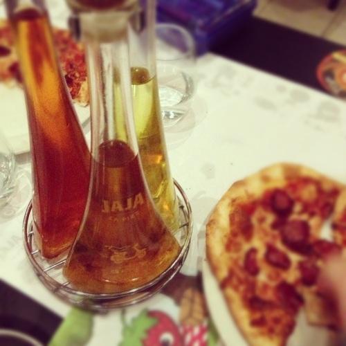 huiles et pizz Pépé et Rony