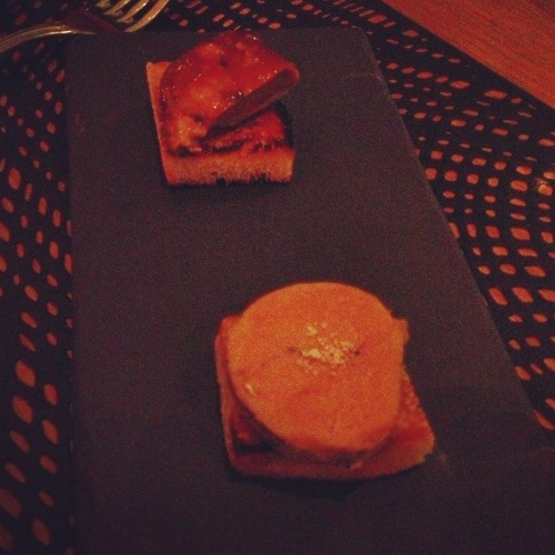 Foie gras bistango