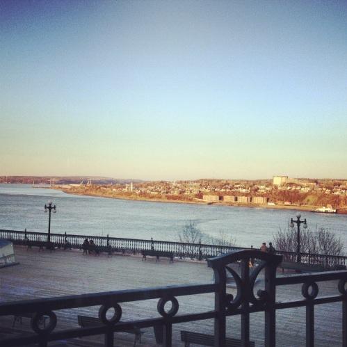 vue Québec