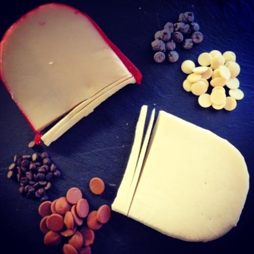 Test de goût choco-fromage