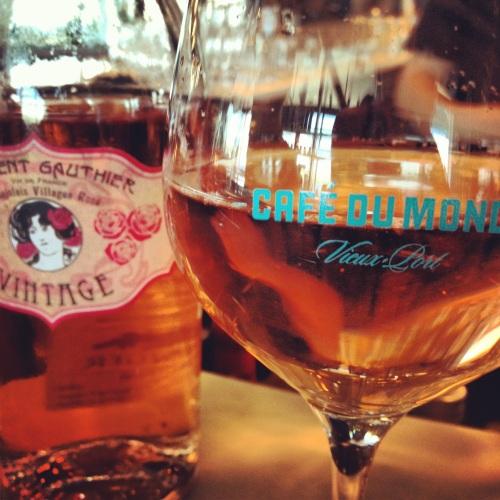 Rosé Beaujolais Gamay Café du monde