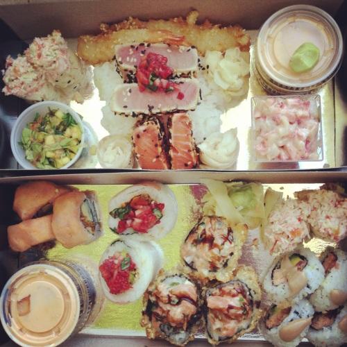 Sushi Taxi pique-nique 2