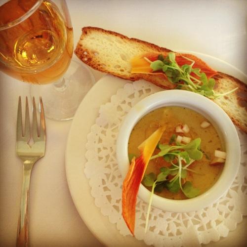 foie gras et cidre de glace