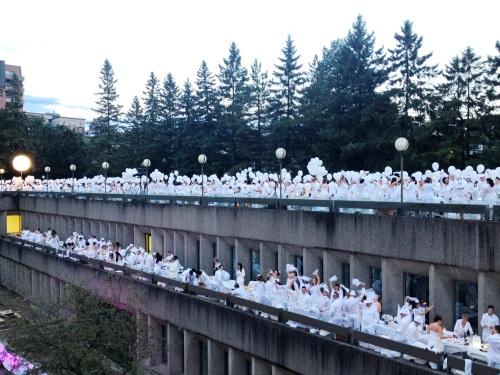 Dîner en blanc Québec 2013