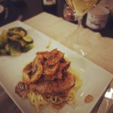 Filet de porc érable, Dijon et vin blanc