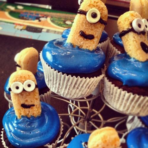 Cupcakes Minion Détestable moi