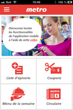 application metro