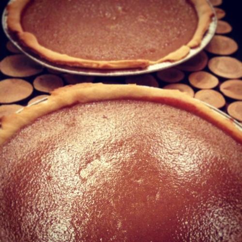 2 tartes à la citrouille