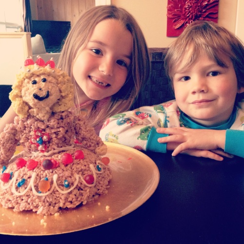 Princesse en RiceKrispies Enfants
