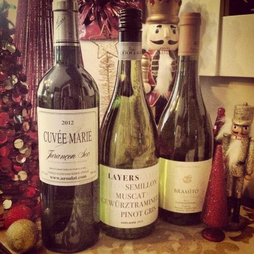 Suggestions vins blancs pour Noël
