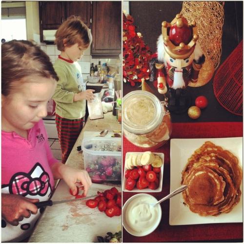 mes enfants qui cuisinent