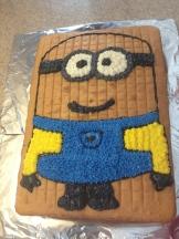 déco gâteau minion 3
