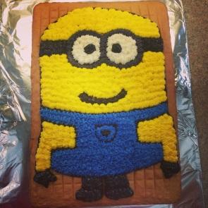 Mon gâteau en cours de production
