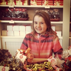Chocolats favoris Grande fille