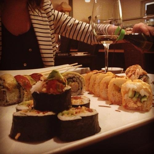 Sushi Stock repas