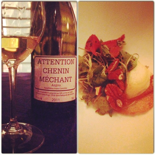 Attention Chenin Méchant Anjou et Chèvre chaud