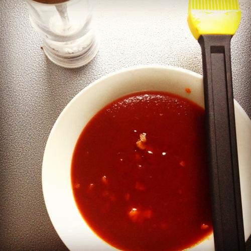 Sauce à côtes levées maison