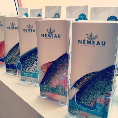 Menu Nemeau