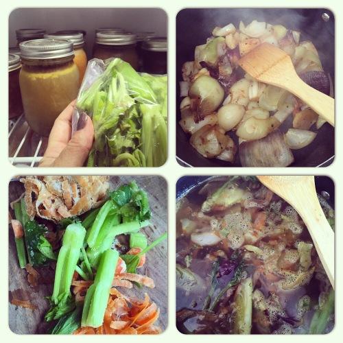 Faire son bouillon de légumes