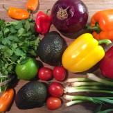Légumes pour accompagner poulet mexicain