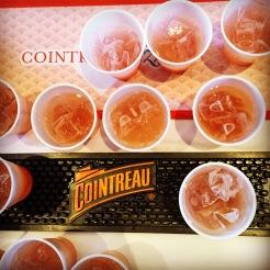 Délicieux cocktail au cointreau