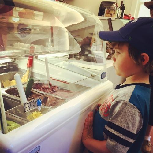 Fiston et les gelato