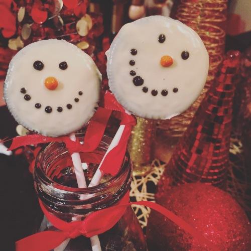 Bonhommes de neige Oreo-Chocolats Favoris
