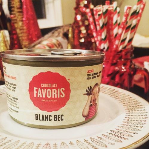 Fondue Blanc-Bec Chocolats Favoris