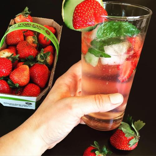 drink gin-concombres-fraises