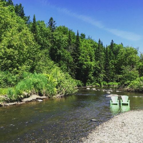 camping rivière nicolet plage naturelle