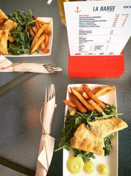 Fish'n'chips La Barge - un must