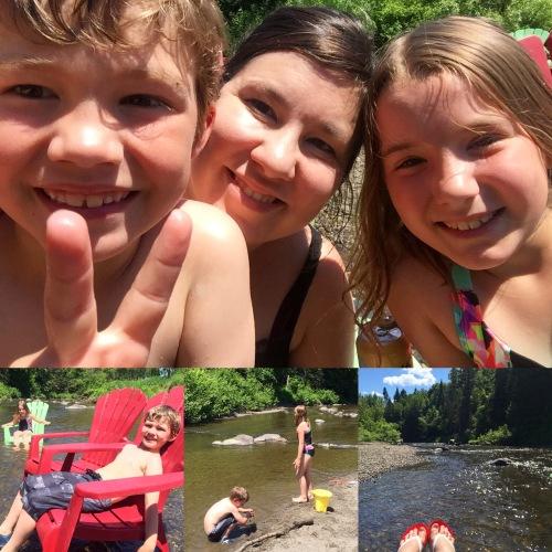 camping rivière nicolet chalet