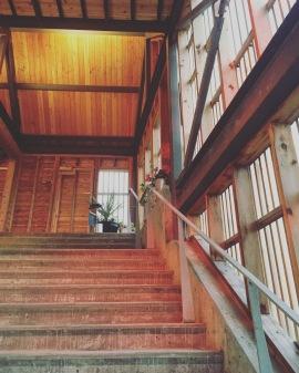 Escalier digne des grands vignobles
